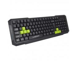 Клавіатура Esperanza EGK102 Green USB (EGK102GUA)