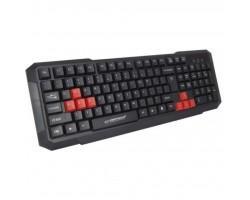 Клавіатура Esperanza EGK102 Red USB (EGK102RUA)