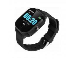 Смарт-годинник GoGPS К23 Black Детские телефон-часы с GPS треккером (K23BK)