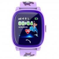 Смарт-годинник GoGPS ME K25 Пурпурные (K25PR)