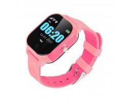 Смарт-годинник GoGPS К23 Pink Детские телефон-часы с GPS треккером (K23PK)