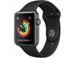 Смарт-годинник Apple Watch Series 3 GPS, 38mm Space Grey Aluminium Case with Blac (MTF02GK/A)