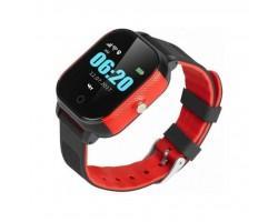 Смарт-годинник GoGPS К23 Black/red Детские телефон-часы с GPS треккером (K23BKRD)