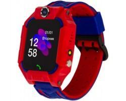 Смарт-годинник Atrix iQ2500 IPS Cam Flash Red дитячий телефон-часы з трекером (iQ2500 Red)