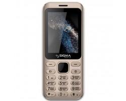 Мобільний телефон Sigma X-style 33 Steel Dual Sim Gold (4827798854921)