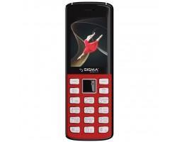 Мобільний телефон Sigma X-style 24 Onyx Red (4827798324622)