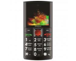 Мобільний телефон Sigma Comfort 50 Solo Black (4827798121511)