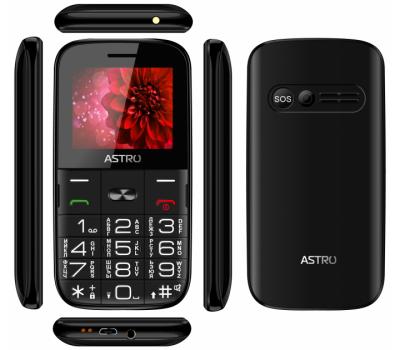 Мобільний телефон Astro A241 Black