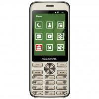 Мобільний телефон Assistant AS-204 Gold (873293012810)