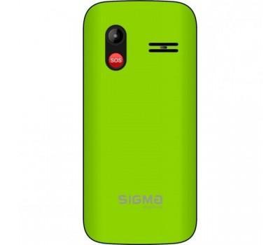 Мобільний телефон Sigma Comfort 50 HIT2020 Green (4827798120941)
