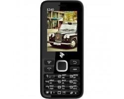 Мобільний телефон 2E E240 Dual Sim Black (708744071132)
