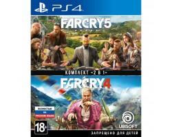 Гра SONY Комплект «Far Cry 4» + «Far Cry 5» [PS4, Russian version] (8113476)