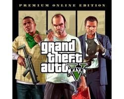 Гра Xbox Grand Theft Auto V Premium Online Edition [Blu-Ray диск] (5026555362504)
