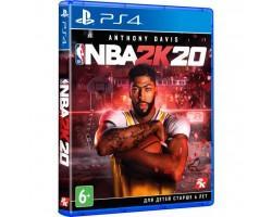 Гра SONY NBA 2K20 [PS4, English version] Blu-ray диск (5026555426398)