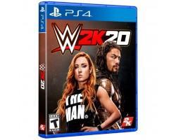 Гра SONY WWE 2K20 [PS4, English version] (5026555425629)