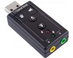 Звукова карта USB Gemix SC-02 sound card 7.1 (SC-02)