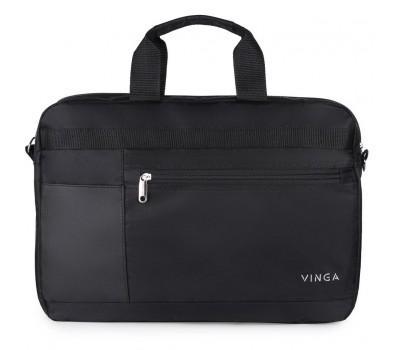 "Сумка для ноутбука Vinga 15.6"" NB220BK black (NB220BK)"