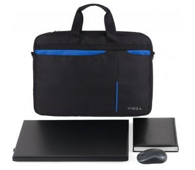 "Сумка для ноутбука Vinga 15.6"" NB175BB blue-black (NB175BB)"