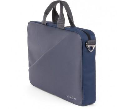 "Сумка для ноутбука Vinga 15.6"" NB180GR gray-blue (NB180GR)"
