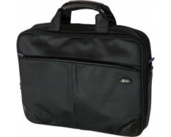 "Сумка для ноутбука 15.6"" HQ-Tech EE-15520S чорна waffle pique, протиударний захист"