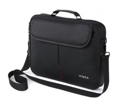 "Сумка для ноутбука Vinga 15.6"" NB201BK black (NB201BK)"