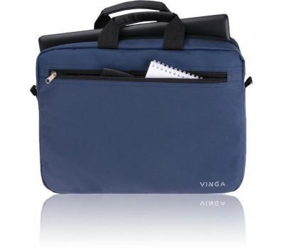 """Сумка для ноутбука Vinga 15.6"""" NB110DBL dark blue (NB110DBL)"""