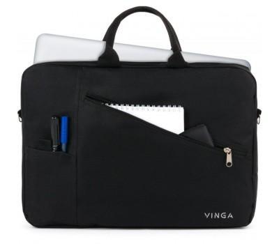 "Сумка для ноутбука Vinga 15.6"" NB120BK black (NB120BK)"
