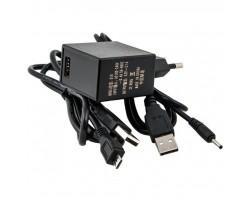 Блок живлення до планшета PowerPlant IBM/LENOVO 220V 11W: 5.2V 2.2A (Micro USB) (IB11OMICR)