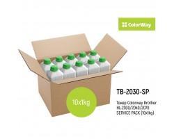 Тонер Brother HL-2030/2040/2070 SERVICE PACK (10x1kg) ColorWay (TB-2030-SP)