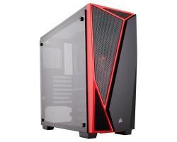 Корпус Corsair Carbide SPEC-04 Tempered Glass Black/Red (CC-9011117-WW)