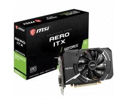 Відеокарта MSI GeForce GTX1660 Ti 6144Mb AERO ITX OC (GTX 1660 Ti AERO ITX 6G OC)