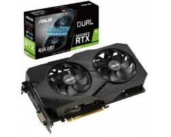 Відеокарта ASUS GeForce RTX2060 6144Mb DUAL EVO (DUAL-RTX2060-6G-EVO)