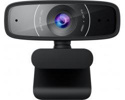 Веб-камера ASUS Webcam C3 Full HD Black (90YH0340-B2UA00)