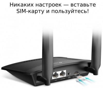 Маршрутизатор Wi-Fi TP-LINK TL-MR100